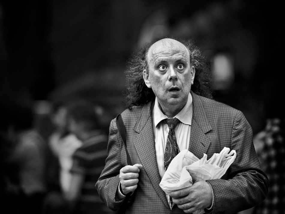 A piece of fine art art photography titled The Unexpected by Fabio Giannelli