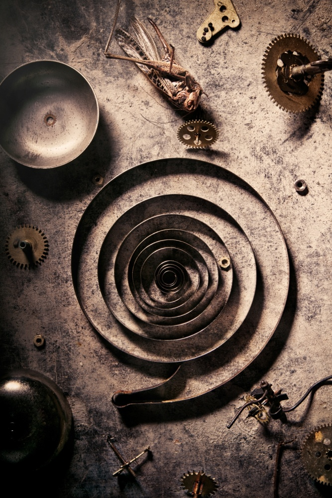 A piece of fine art art photography titled Parts by Golubeva Nataly