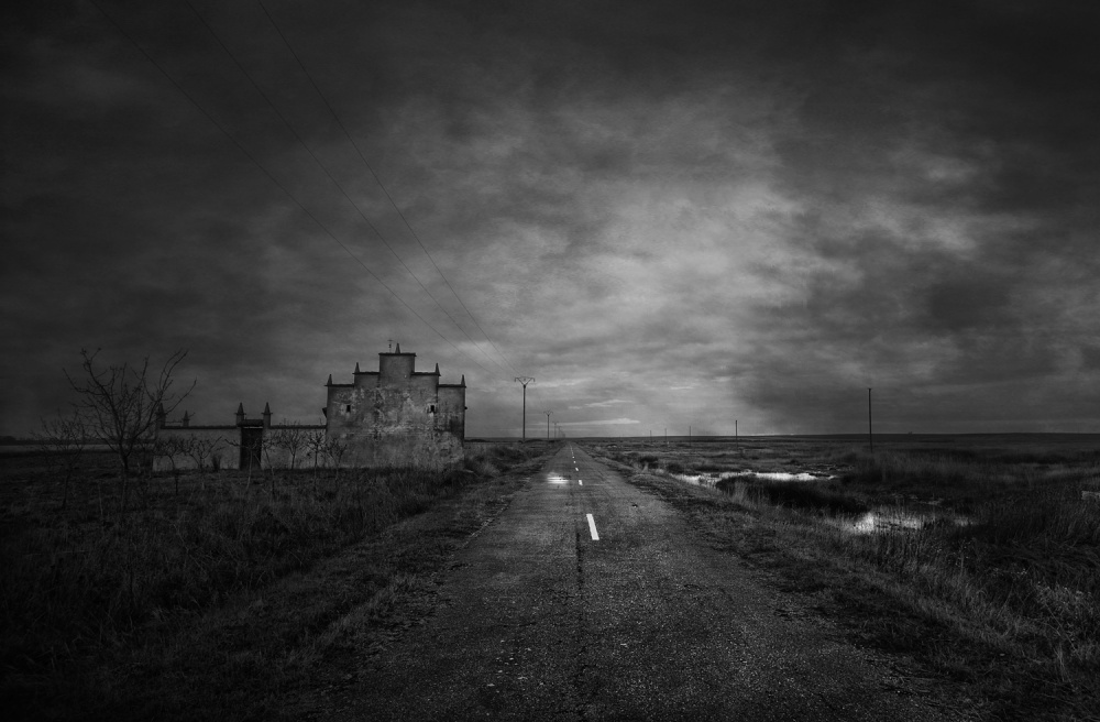 A piece of fine art art photography titled Road to Nowhere by Jose C. Lobato