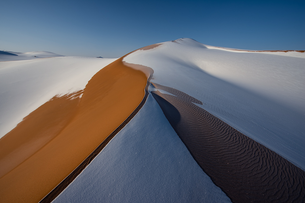 View this piece of fine art photography titled Desert lines by Shanyewuyu