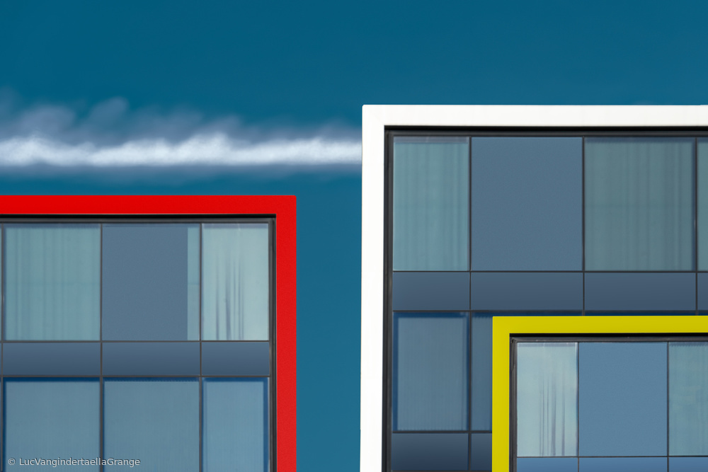 View this piece of fine art photography titled Living in rectangles by Greetje van Son