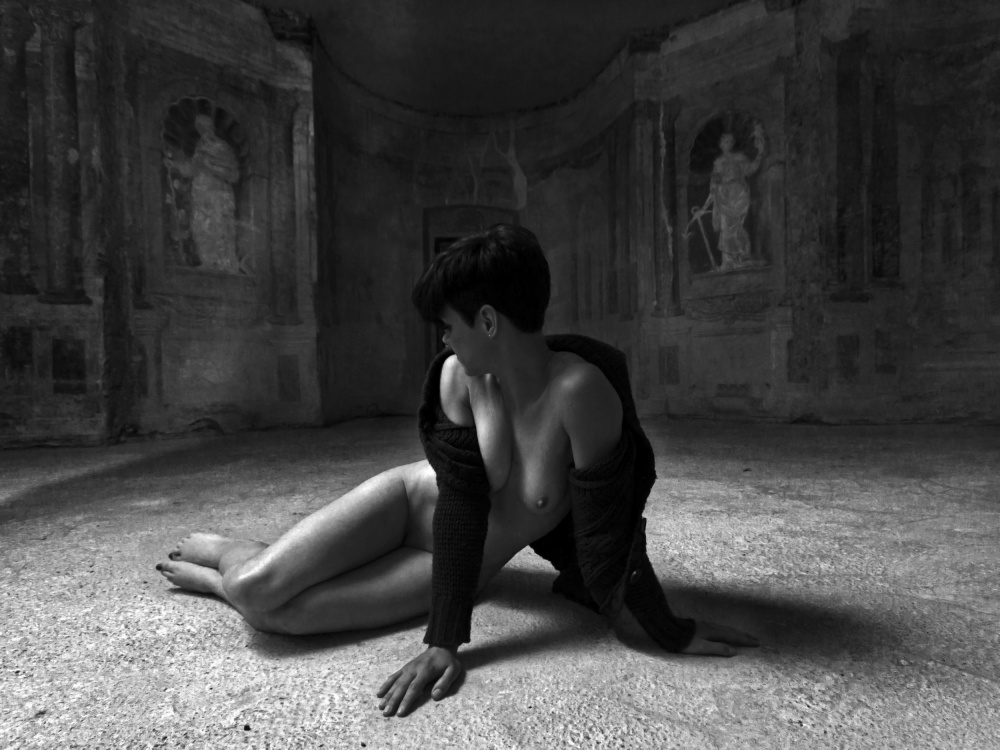 A piece of fine art art photography titled Nymph Room 2 by Matej Rukavina