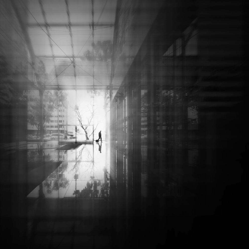 A piece of fine art art photography titled Glass World by Leah Guo