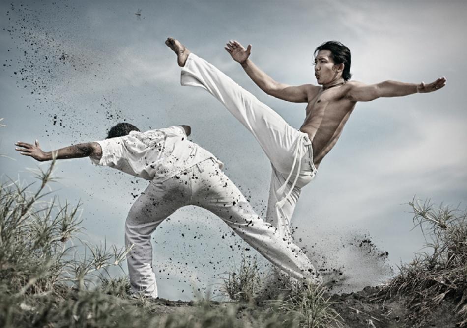 A piece of fine art art photography titled Capoeira by ferli