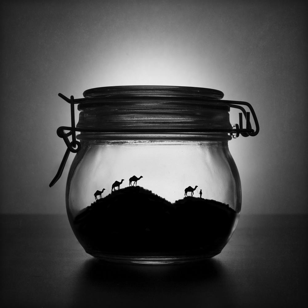 A piece of fine art art photography titled A Jar of Sugar Sand by Victoria Ivanova