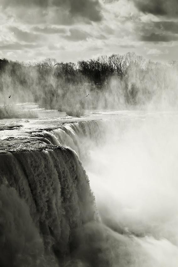 A piece of fine art art photography titled Mystic Fall by Ramiro De Leon
