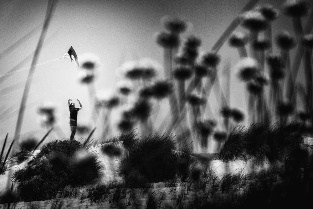 A piece of fine art art photography titled A Feeling Like This by Laura Mexia