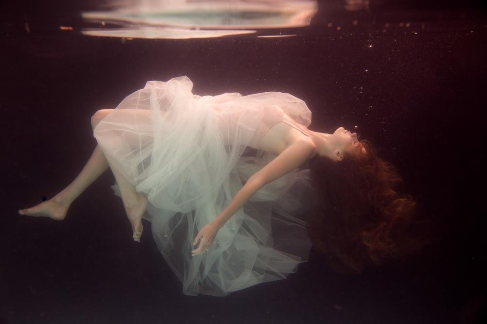 A piece of fine art art photography titled Laura by Gabriela Slegrova