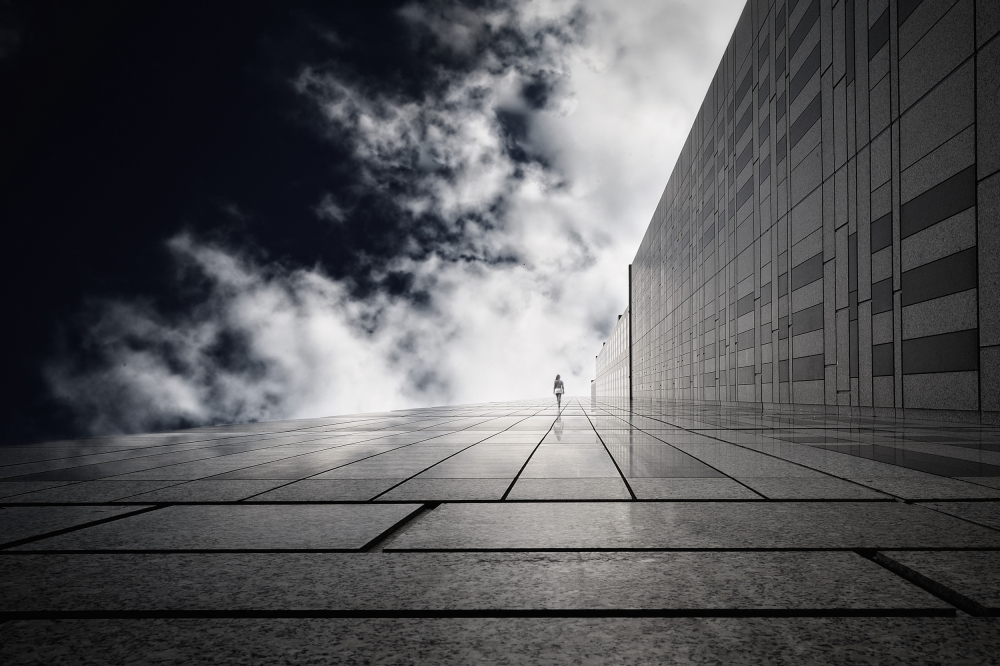 A piece of fine art art photography titled The Ethereal Corridor by Dr. Akira TAKAUE