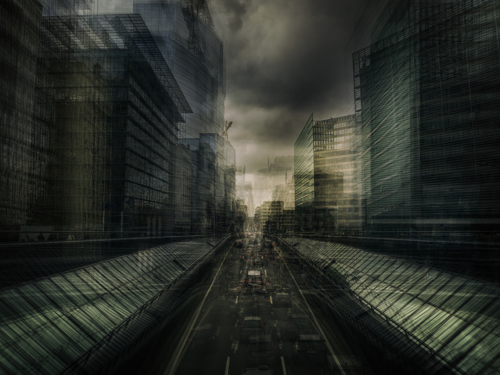 A piece of fine art art photography titled Event Horizon by Thomas Vanoost