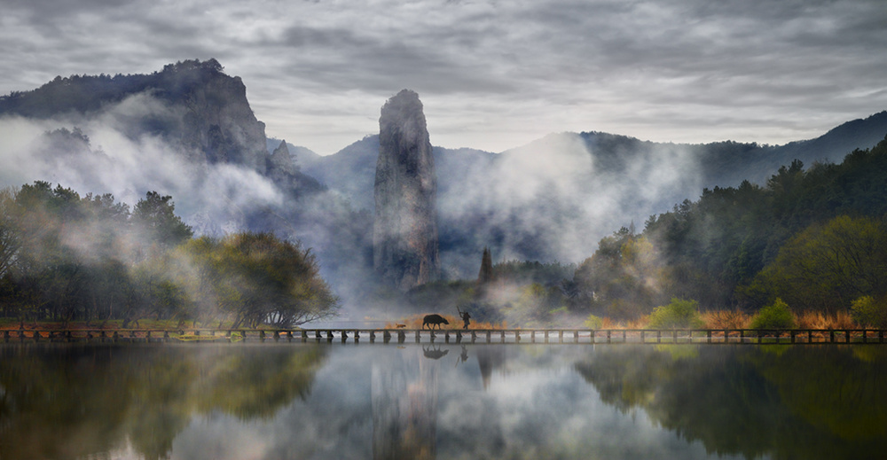 Fairy land of Zhejiang