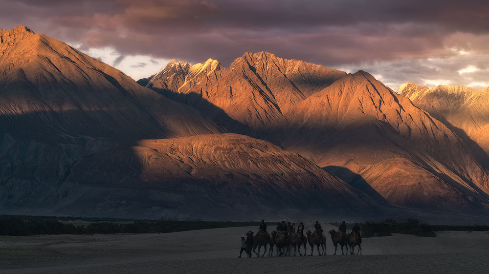 A piece of fine art art photography titled Nubra Valley by Juanra Noriega