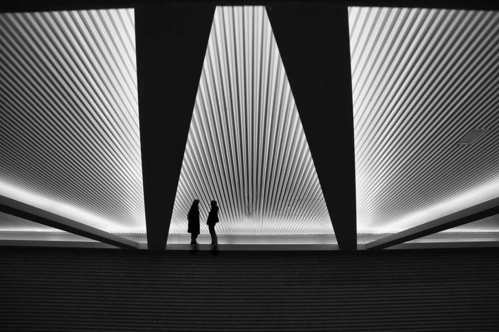 A piece of fine art art photography titled Talking About Design by Marc Apers