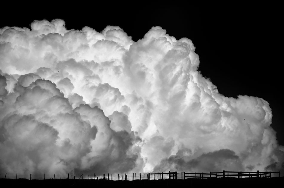 A piece of fine art art photography titled Cumulus Congestus by gary radler