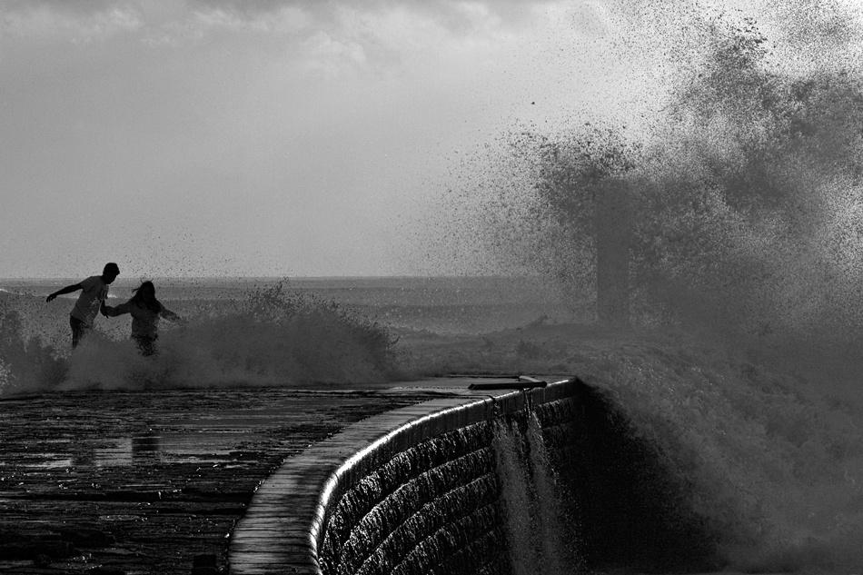 A piece of fine art art photography titled Run!!! by Carlos da Costa Branco