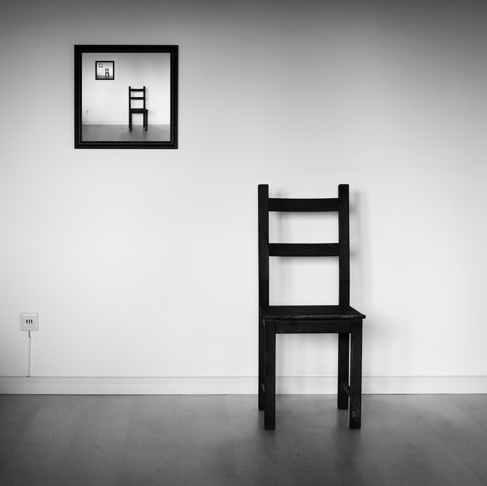 A piece of fine art art photography titled Emptiness by Manu D