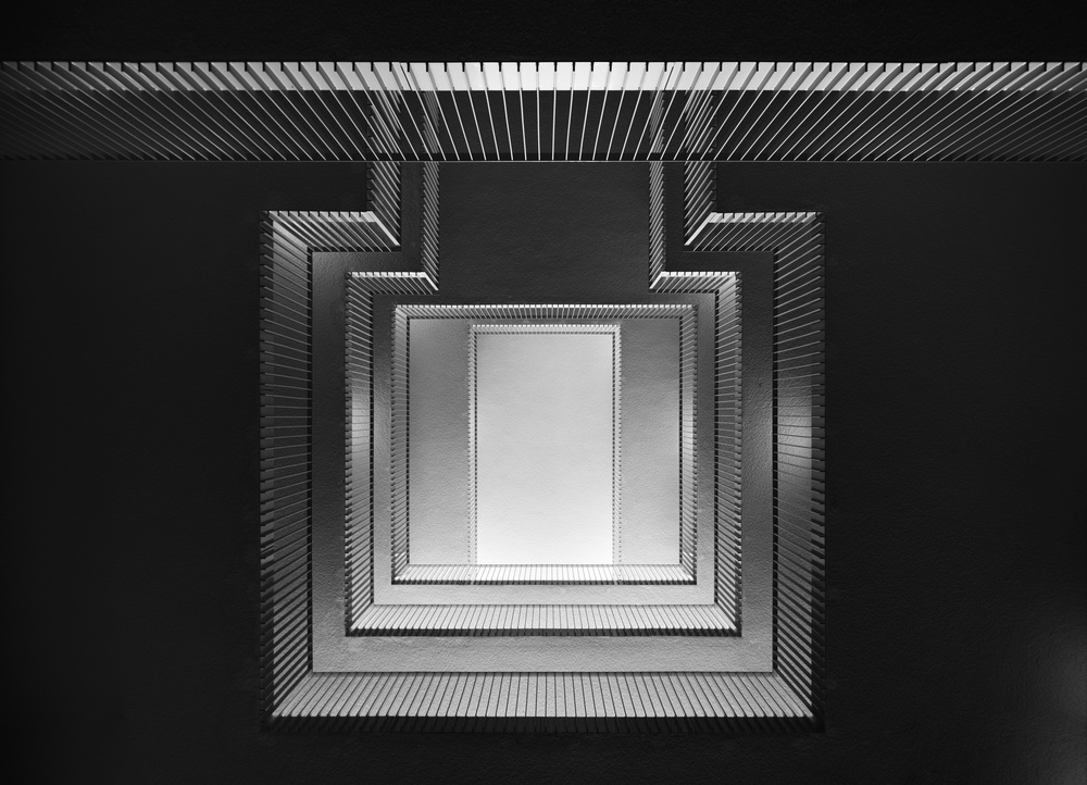 A piece of fine art art photography titled Almost Square by Greetje van Son