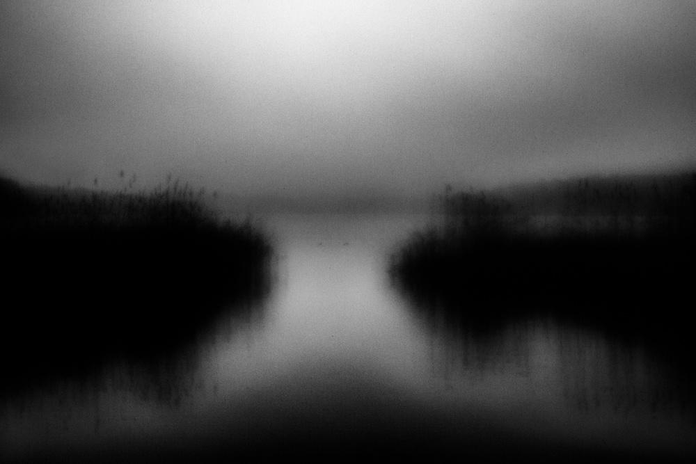 A piece of fine art art photography titled Gab by Jørgen Feldstedt