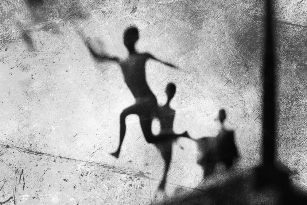 A piece of fine art art photography titled Jump  by jay satriani