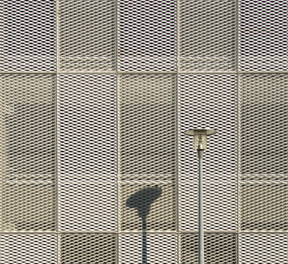 A piece of fine art art photography titled The Lamp and Its Shadow by Jef Van den Houte