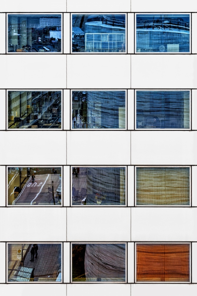 A piece of fine art art photography titled Offices by Dennis Mohrmann