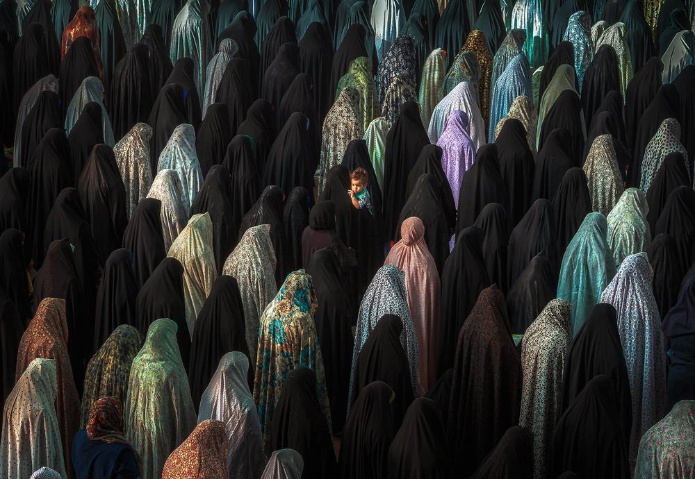 View this piece of fine art photography titled Congregational prayer by Amir Hossein Kamali | امیرحسین کمالی