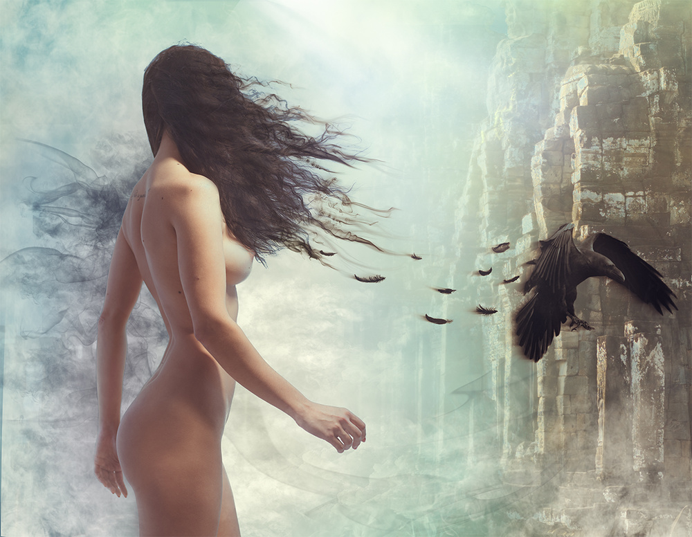 A piece of fine art art photography titled Dreams by Andrew Gnezdilov