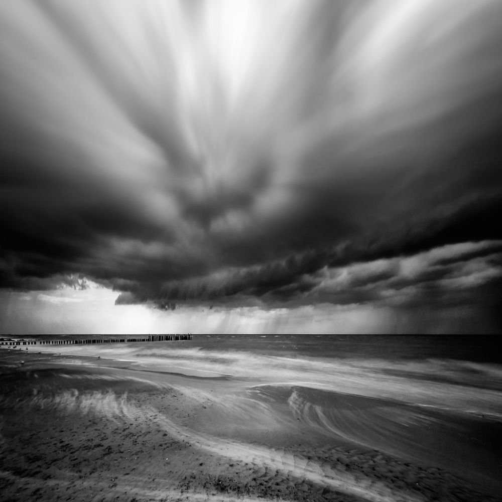 A piece of fine art art photography titled Before the Storm by Piotr Krol (Bax)