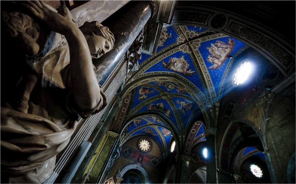 A piece of fine art art photography titled Santa Maria Sopra Minerva by robbin reumer