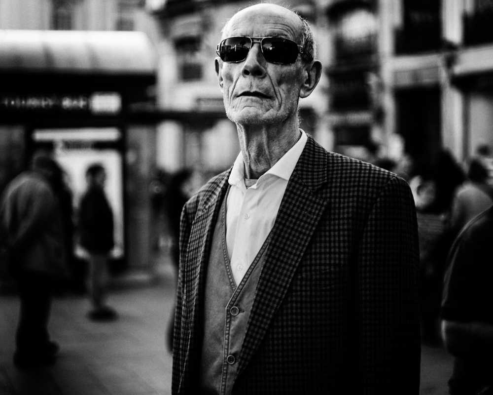 A piece of fine art art photography titled Elder and Proud by M.Alkhamis