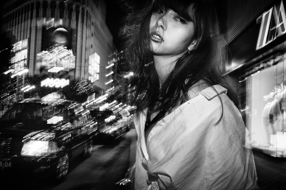 A piece of fine art art photography titled Serina by Ash Shinya Kawaoto