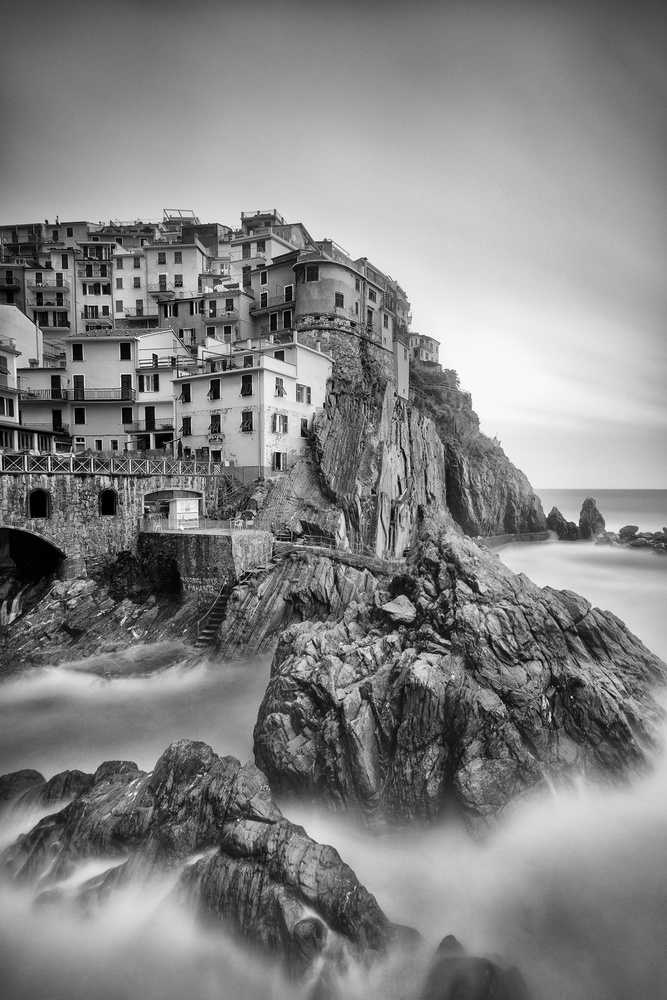 A piece of fine art art photography titled Cinque Terre III by Andreas Paehge