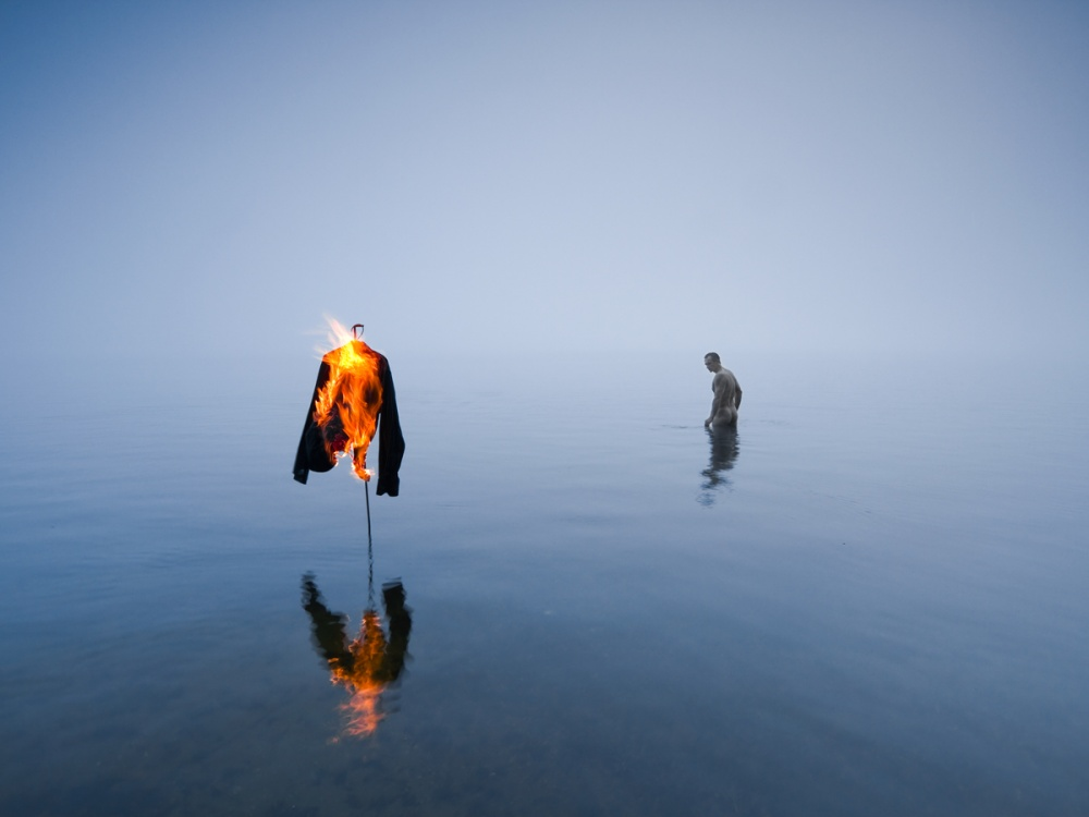 A piece of fine art art photography titled Break With the Past by Leszek Paradowski
