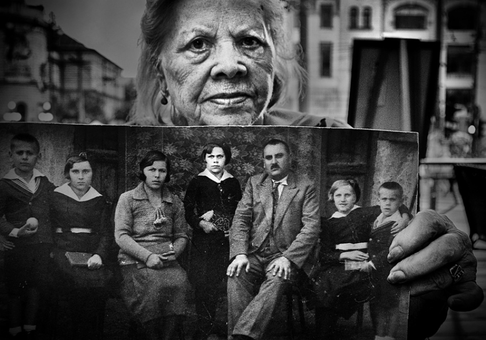 A piece of fine art art photography titled 77 Years Later by Dragan M. Babovic