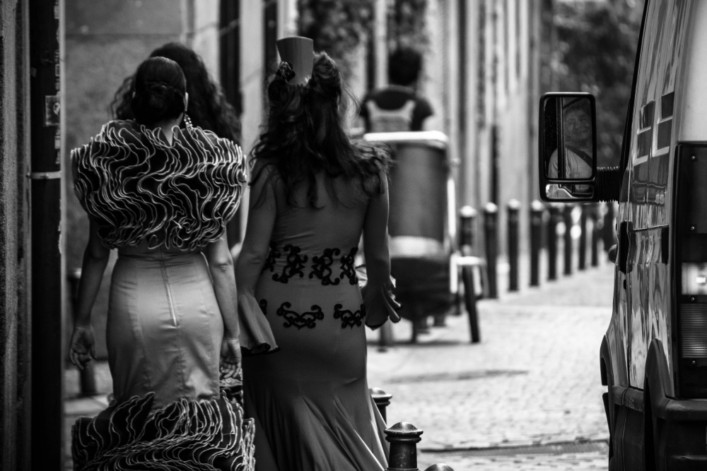 A piece of fine art art photography titled MAD Madrid by Alejandro Marcos