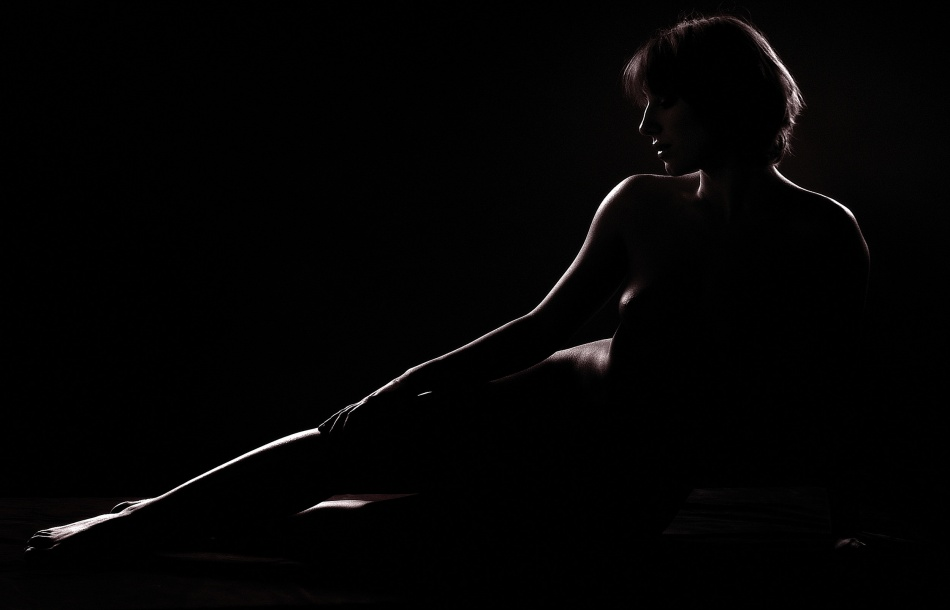 A piece of fine art art photography titled As a Dark Canova's by Fulvio Pellegrini