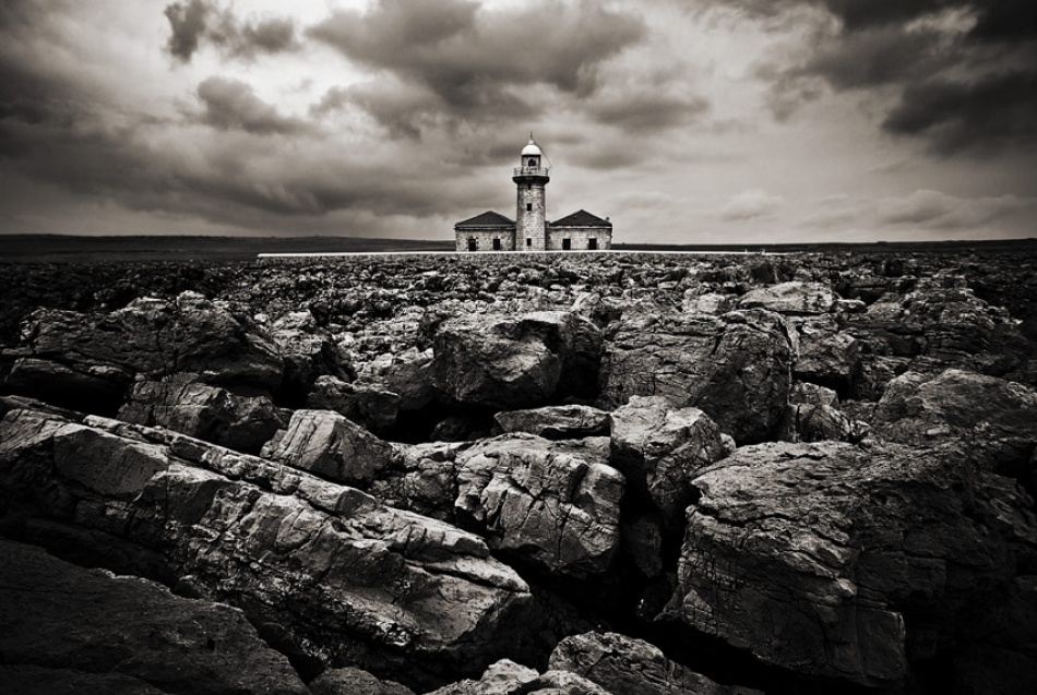 A piece of fine art art photography titled Lighthouse by Eduard