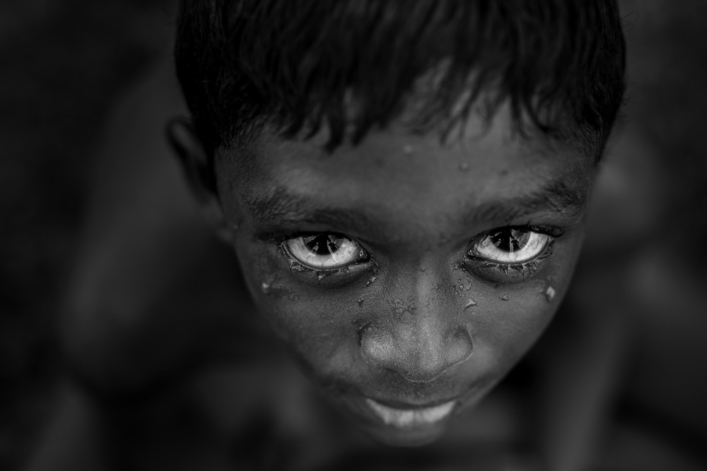 A piece of fine art art photography titled The Look by NaveenRaj G