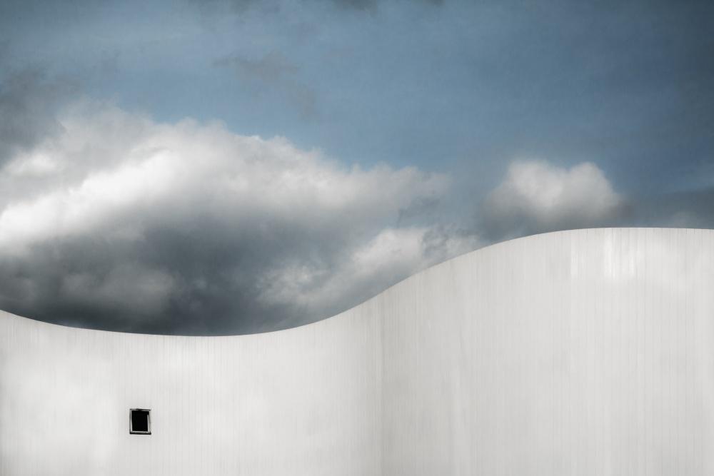 A piece of fine art art photography titled Schauspielhaus by Gilbert Claes