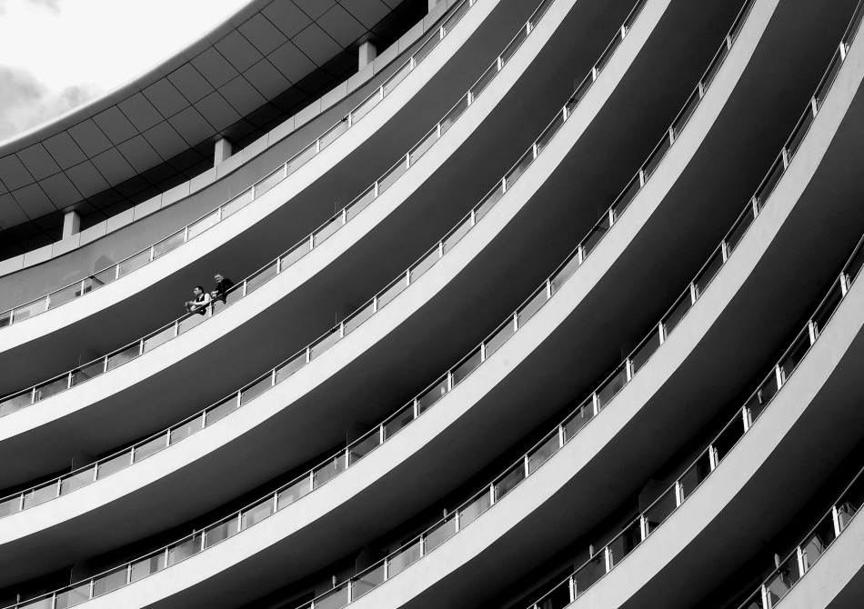 A piece of fine art art photography titled Curves by Szilárd Bücs