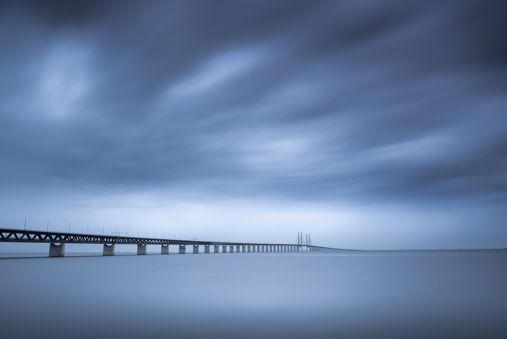 A piece of fine art art photography titled The Bridge by Andreas Christensen