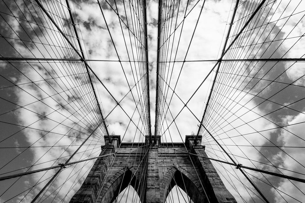 A piece of fine art art photography titled The Bridge by Susumu Nihashi