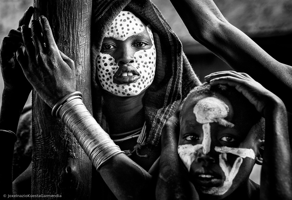 View this piece of fine art photography titled Surma tribe people - Ethiopia by Joxe Inazio Kuesta Garmendia