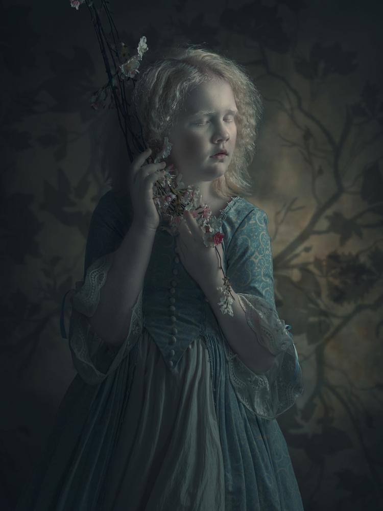 A piece of fine art art photography titled Emilka by Ewa Cwikla
