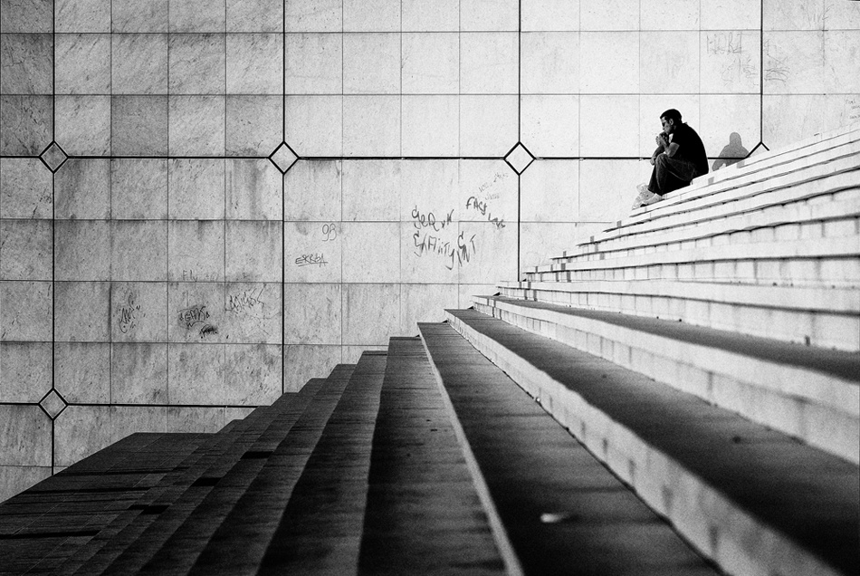 A piece of fine art art photography titled Geometries by Davide Procaccini