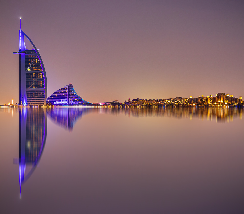 View this piece of fine art photography titled Burj Al Arab Reflections by Gunarto Song