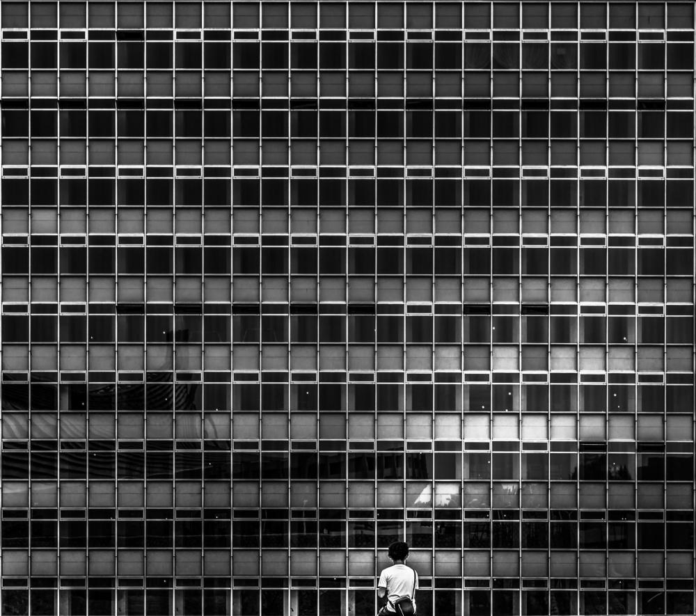 A piece of fine art art photography titled Tokyo - Urban Living by Michael Jurek