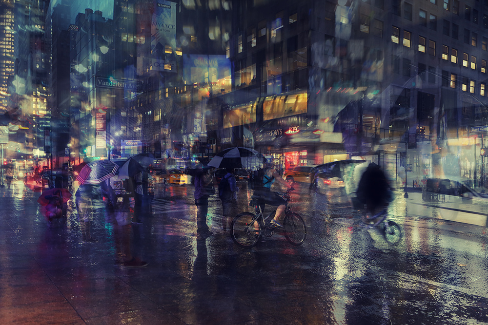 A piece of fine art art photography titled Nyc 6 by Massimo Della Latta