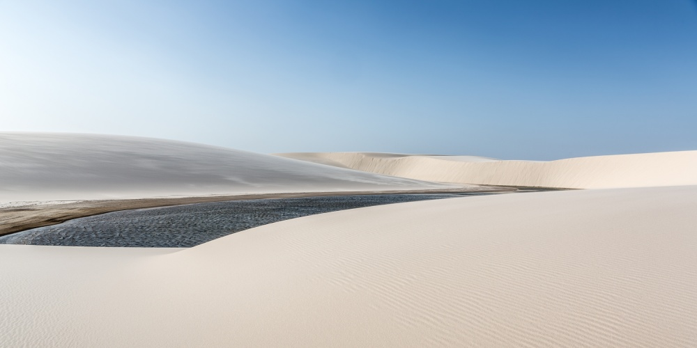 A piece of fine art art photography titled Lençóis Maranhenses by Alfred Myers