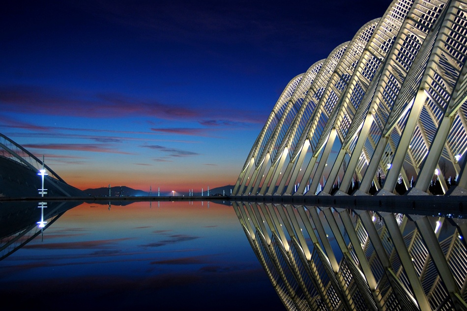 A piece of fine art art photography titled Athens Olympic Complex by iraklis